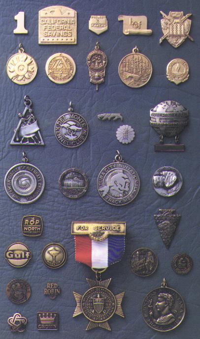 Pins Medals