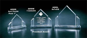 President Award on Base