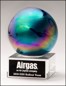 Art Glass Globe