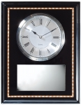 Ebony Clock Plaque