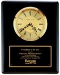 Black Piano Finish Clock Plaque