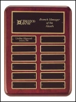 Piano Finish Rosewood Perpetual plaque