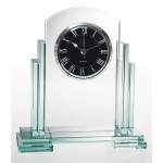 Jade Glass Clock