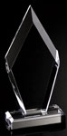 Clear Bevel Arrowhead Award