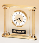 Goldtone Clock